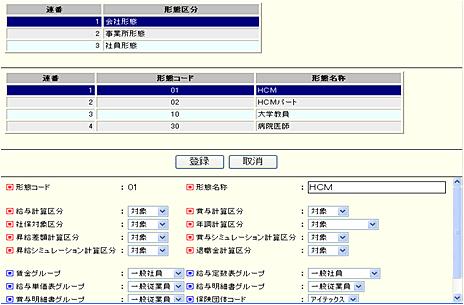システム管理機能