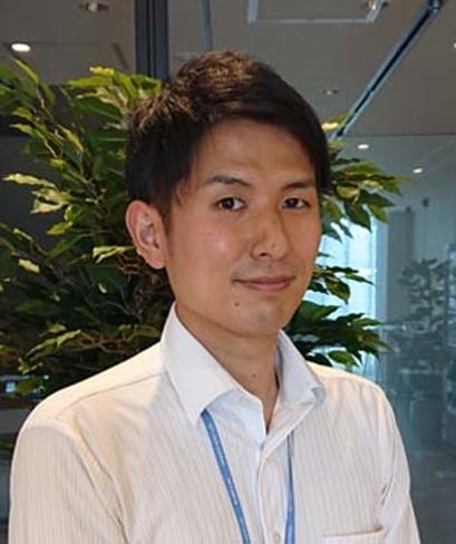 NTTデータ関西 第一法人事業部 営業担当 竹内 知矢